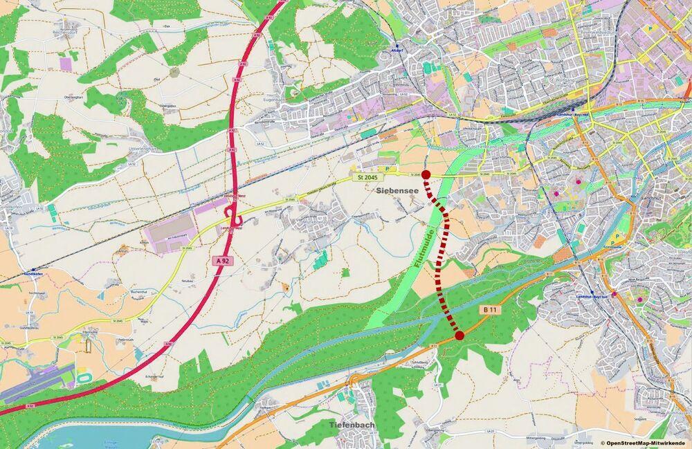 Westtangente Landshut Variante 7