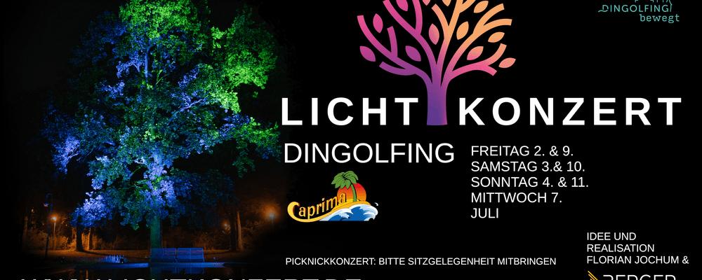 © Lichtkonzert Dingolfing