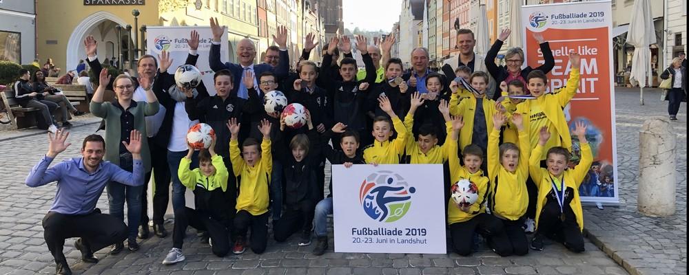 Die Sportvereine in und um Lanshut, Vertreter des BFV und auch der Stadt Landshut freuen sich auf die Fußballiade 2019