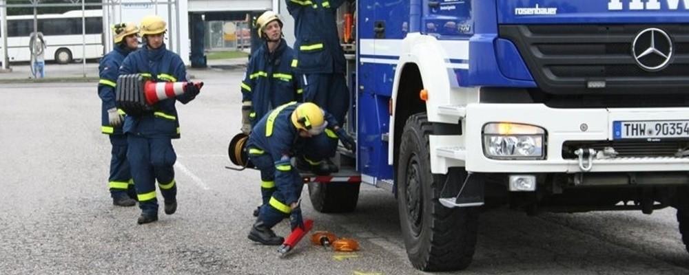 THW, Technisches Hilfswerk, © THW Eggenfelden
