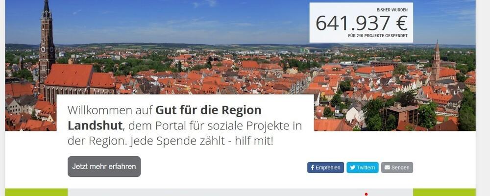 © Homepage Sparkasse Landshut